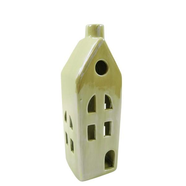 Keramik-Haus mit LED